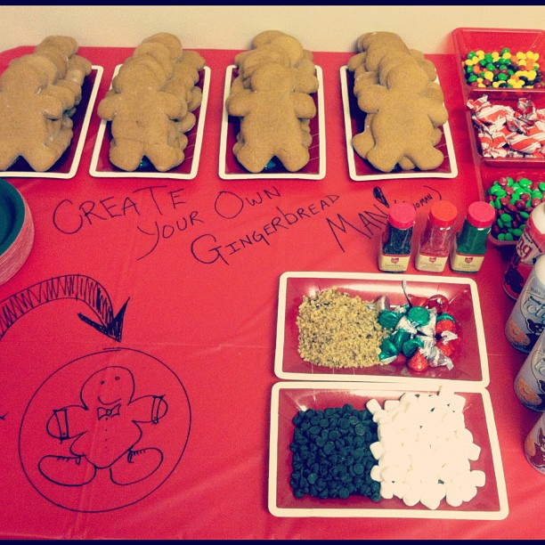 Create your own gingerbread man