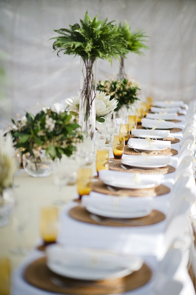 Green Gold Table Setting2