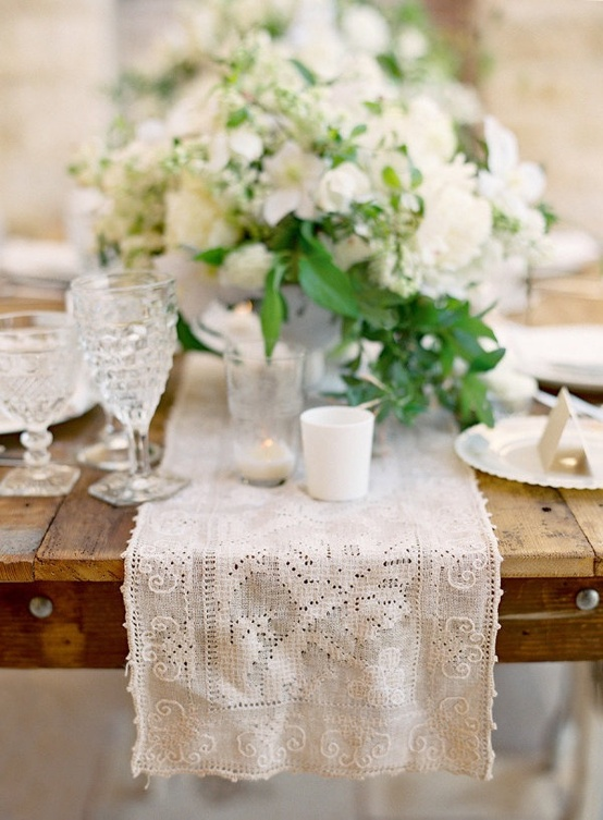 Green White Table Setting3