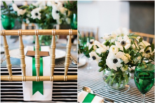 Green White Table Setting6