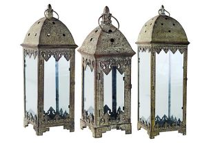 Weathered Garden Lanterns