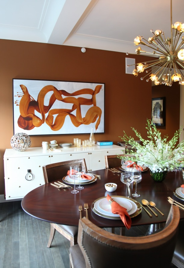 James Nares in Dining Room