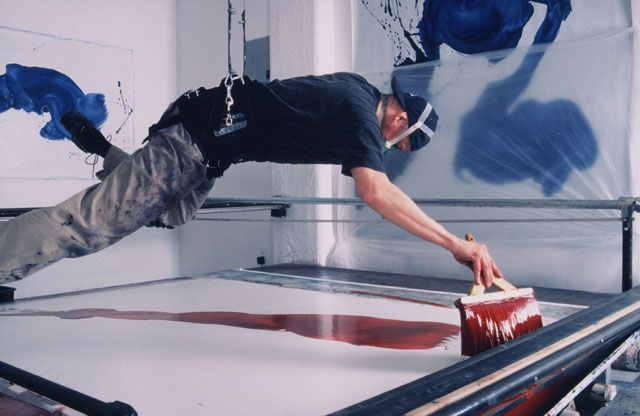 James Nares painting