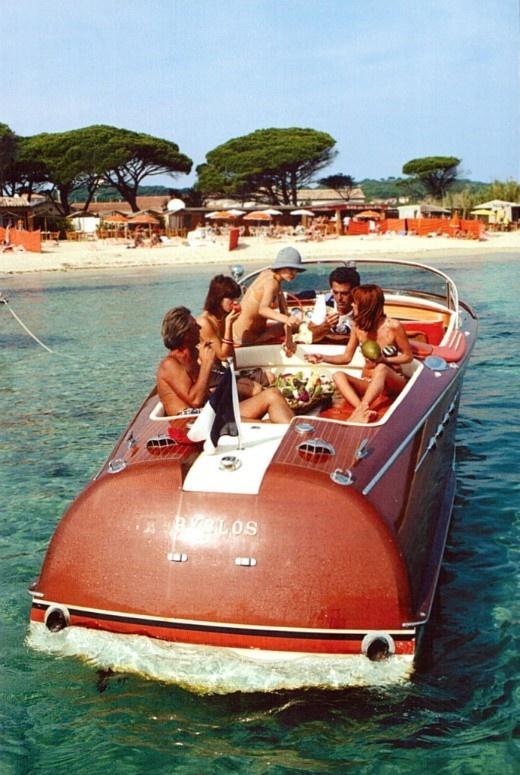 boat picnic