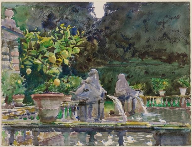 Villa di Marlia, Lucca- A Fountain